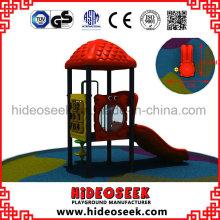 Plastikspielplatz-Ausrüstung des kleinen Satzes im Freien
