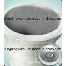 Cadinho de tungstênio puro para derretimento de quartzo de forno a vácuo