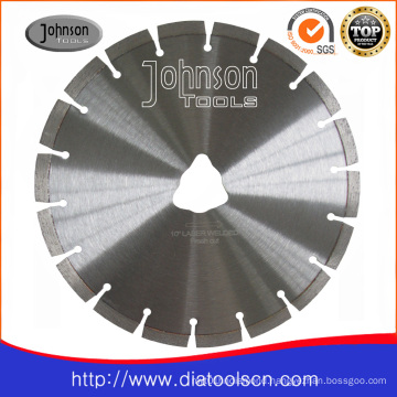 Diamond cutting tool: 250mm laser saw blade for green concrete