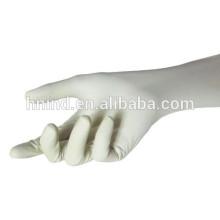Pulverfreie Latex-Prüfhandschuhe mit CE, FDA für Krankenhaus