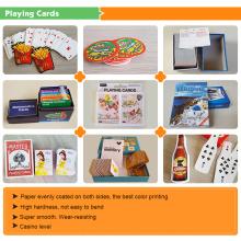 Großhandelsspielkarten mit Zinn-Kasten-Papierkasten