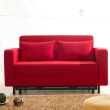 Folding Fabric Double Sleeper Lounge Sofa Bed