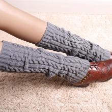 Women′s Cable Leg Warmers (TA309)
