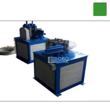 Coil steel inner and outer protective ring making machine