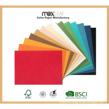 225GSM A4 Size Color Board for Making Package, Wrapping Materials