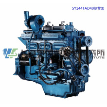 6 Cylinder, 227kw, Shanghai Dongfeng Diesel Engine for Generator Set