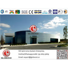 Globond Plus PVDF panneau composite en aluminium (PF122)