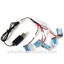 H20 battery Extra Spare 1 to 5 3.7V 150mAh Battery Set for JJRC H20 Remote Control Hexacopter