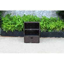 Cabinet d'osier synthétique durable et confortable pour salle de bain et cuisine