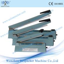 Máquina de sellado de papel a mano de cuerpo de aluminio