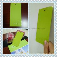 High Gloss Apple Green Decorative Thermoset Powder Paint
