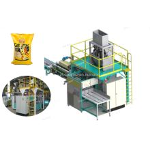 Máquina embaladora de areia para animais domésticos de 25kg / 50kg