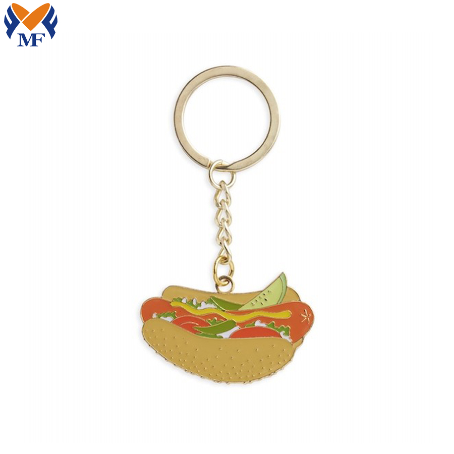 Custom Food Keychain