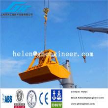Control remoto inalámbrico agarre hidráulico 0.5cbm - 16cbm para material a granel, madera,