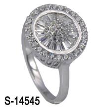 A maioria de 925 anéis de casamento de prata da forma (S-14545. JPG)