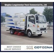 Главный sinotruk HOWO с колесной формулой 4х2 свет подметание дорожных грузовиков