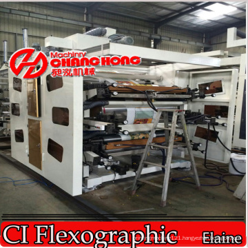 PVC Multicolor Printing Machine (Satellite Type) /Flex Printing Machine