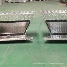 Aluminiumschiene unter Körper unter Tablett Ute-Werkzeugkästen