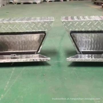 (L / R) Alumínio Echelon Underbody Tool Box para caminhão (L / R) Alumínio Echelon Underbody Tool Box para caminhão