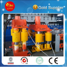 Steel Roof Tile Ridge Cap Making Machine
