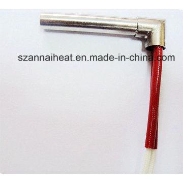 Aquecedor de cartucho industrial com ponta direita (DTG-119)