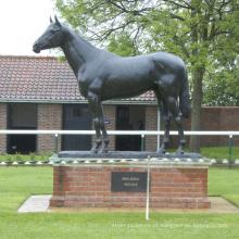 Escultura de cavalo de bronze de alta qualidade