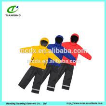 colorful safety children active ski jacket
