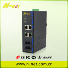Switch industrial POE gigabit