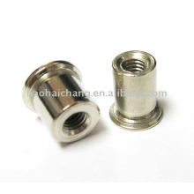 Steel Zinc Plated Rivet Nut used for electric kettle heater / heating appliance