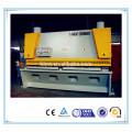 Qc11y 20x4000 máquina de cisalhamento guillotina hidráulica folha matal