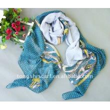 2013 mais novo moda lenço de poliéster