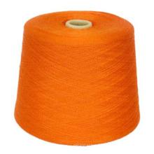 Производственный процесс полиэфир хлопок ткани пряжи для вязания Пряжа