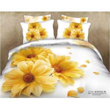 Design de fleurs 100% coton imprimé