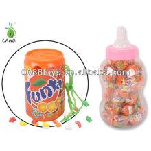Brinquedos de doces de câmera de refrigerante