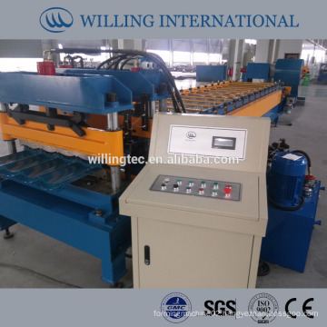 PPGI glazed tile roll forming machine WILLING Company