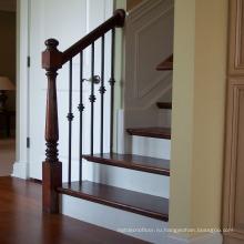 Дуб твердой древесины балюстрады перила и лестницы жилых современный дизайн