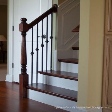 Eichenholz Balustraden Handläufe und Treppenhaus Modernes Wohndesign