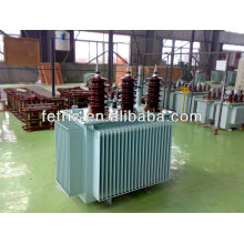 Three phase oil immersed 33kv/0.4kv 100kva transformer
