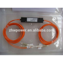 Китай поставка мини-АБС / кассетный / конусный короб типа FBT сплиттер, 1 2 1x2 1 * 2 LC UPC / PC многорежимный оптический разветвитель / ответвитель