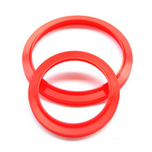 Red PU Wiper Seals for Industrial Hydraulic