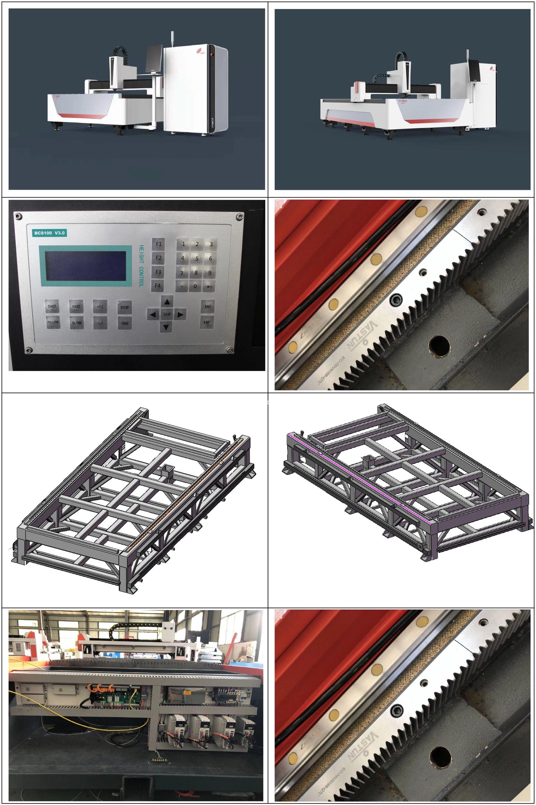 fiber laser cutting machine for brass