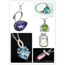 Atacado Crystal jóias de pedra (3002, 3009, 3014, 3010)