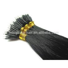 22 inch nano bead hair extension remy human hair