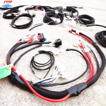 Perakitan Kabel Khusus 7pin Trailer Wire Harness
