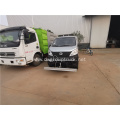 4x2 3cbm 37000 liters cleaning vehicle
