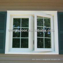 Wanjia chaud-vente pvc simples grilles de fenêtre
