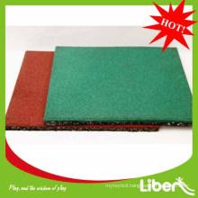 2014 Liben rubber basketball flooring outdoor use