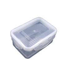 600ML Microwave safe dishwasher safe Airtight fruit snack food storage boxes refrigerator storage box