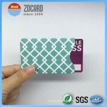 Индивидуальная алюминиевая фольга Бумага для блокировки RFID для кредитных карт