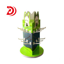 Pet rotating retail display stand